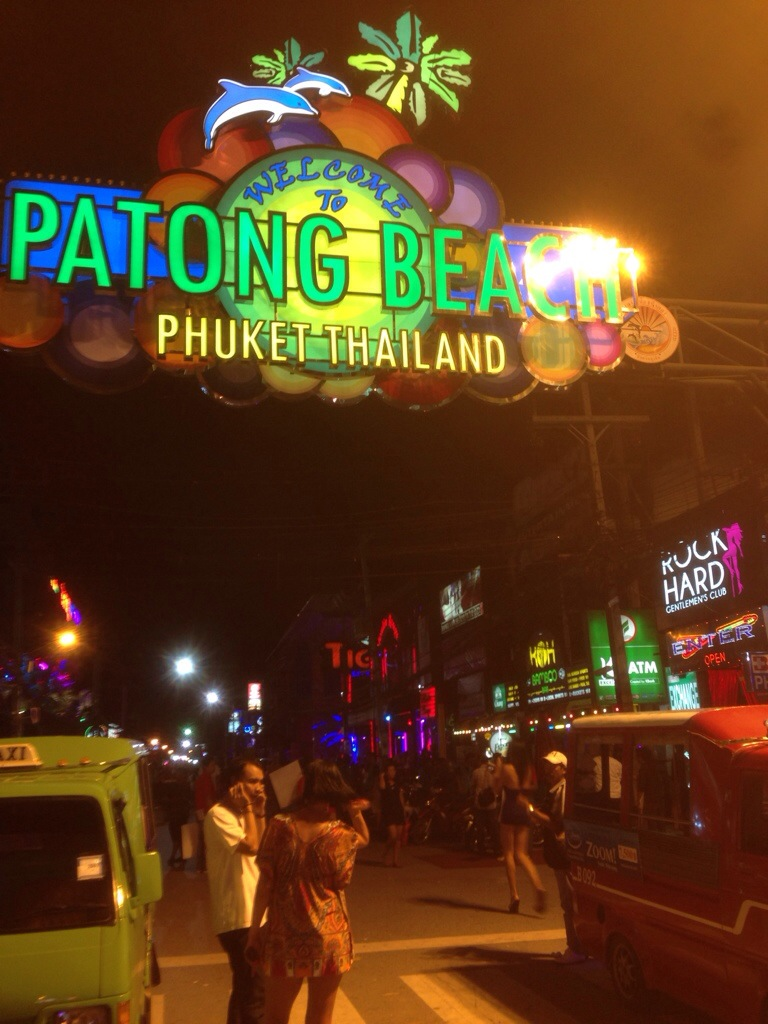 Banglaroad Patong Beach Phuket Thailand